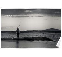 maroochy fishing Poster