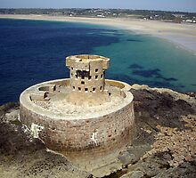 La Rocco Tower, St. Ouen's Bay, Jersey by Kevin Lajoie
