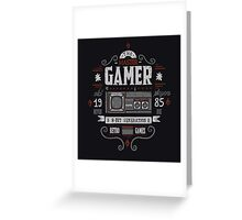 Master gamer Greeting Card