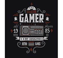 Master gamer Photographic Print