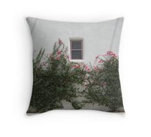 Bougainvillea in the Barrio Throw Pillow