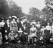 A Country Wedding Party 1903 #2 by Trevor Kersley