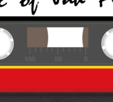 Rasta Cassette Sticker