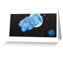 Gummy Bear in Space Greeting Card