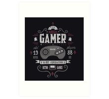 Mega gamer Art Print