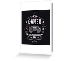 Mega gamer Greeting Card
