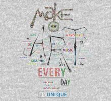 Make New Art Every Day Kids Clothes