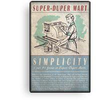 Fallout Super-Duper Mart Canvas Print
