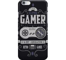 Super gamer iPhone Case/Skin