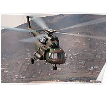 Military helicopter Poster