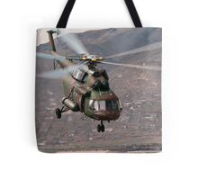 Military helicopter Tote Bag