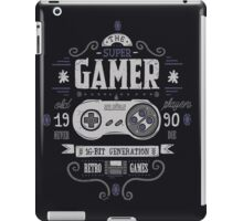 Super gamer iPad Case/Skin