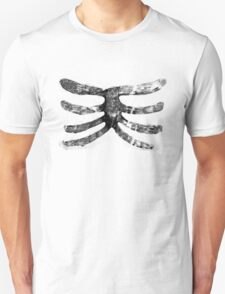 Skeleton Roughy Ribs  T-Shirt