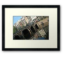 Archs on the bridge Framed Print