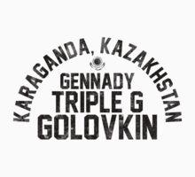 Gennady Golovkin - Letterpress Kids Clothes