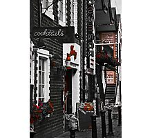 Ashton Lane Red Photographic Print