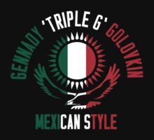 Gennady Golovkin - Mexican Style (Non-Letterpress) Kids Clothes