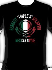 Gennady Golovkin - Mexican Style (Non-Letterpress) T-Shirt