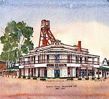 Federal Hotel,Kalgoorlie.West Australia by robynart