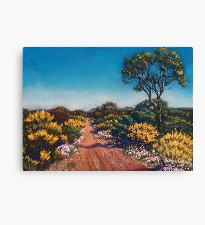 Golden Spring Morning Canvas Print