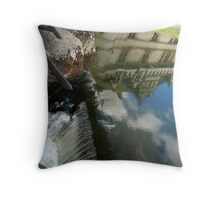 Reflections_of_Vanishing_Renaissance Throw Pillow