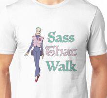Gurren Lagann Leeron Littner - Sass That Walk Unisex T-Shirt