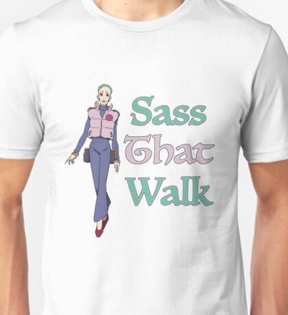 Gurren Lagann Leeron Littner - Sass That Walk Unisex T-Shirt