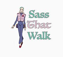 Gurren Lagann Leeron Littner - Sass That Walk T-Shirt