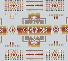 American Native Pattern No. 11 by BakmannArt