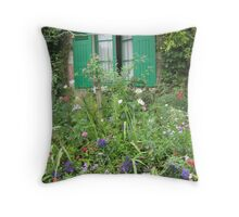 Giverny 3 Throw Pillow