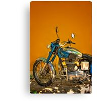 Royal Enfield Canvas Print