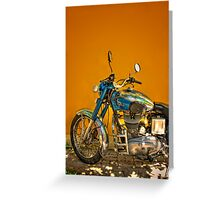 Royal Enfield Greeting Card
