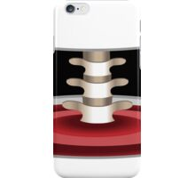 Halloween Spine Cross Section iPhone Case/Skin