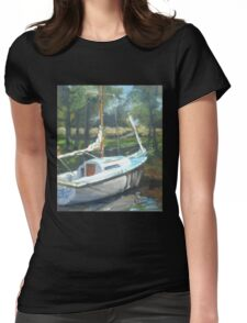 Waiting for Frank T Womens Fitted T-Shirt