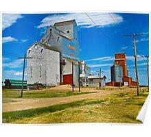 Pioneer Grain Morse  Poster