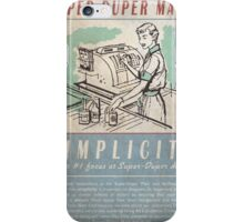 Fallout Super-Duper Mart iPhone Case/Skin