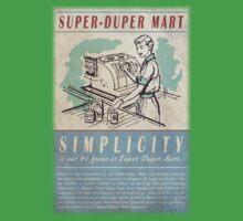 Fallout Super-Duper Mart Kids Clothes