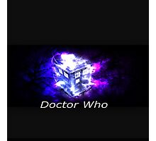 Doctor Who Tee Photographic Print