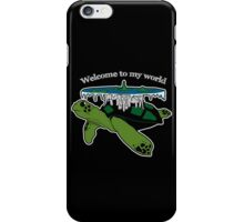 Discworld - welcome to my world iPhone Case/Skin