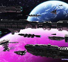 Fleet Maneuvers by Shaun Williams