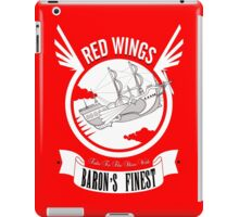Red Wings of Baron iPad Case/Skin