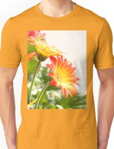 Two Flowers Unisex T-Shirt