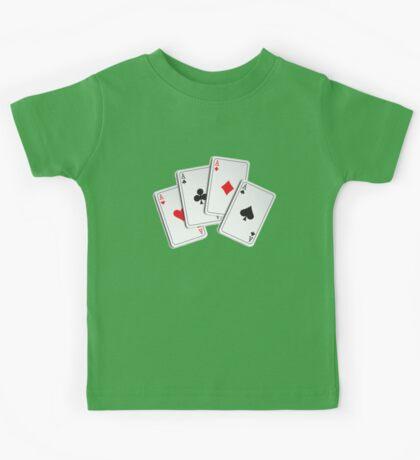 Poker of Aces Kids Tee