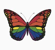 Butterfly Rainbow Style by MidnightAkita