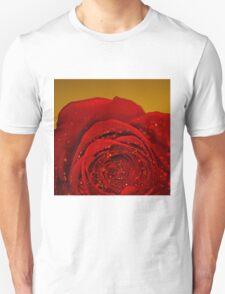 Red Rose macro T-Shirt