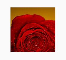 Red Rose macro Unisex T-Shirt