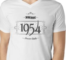 Since 1954 Mens V-Neck T-Shirt