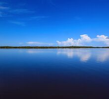 calmness over Chokoloskee Bay by kathy s gillentine