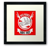 Red Wings of Baron Framed Print
