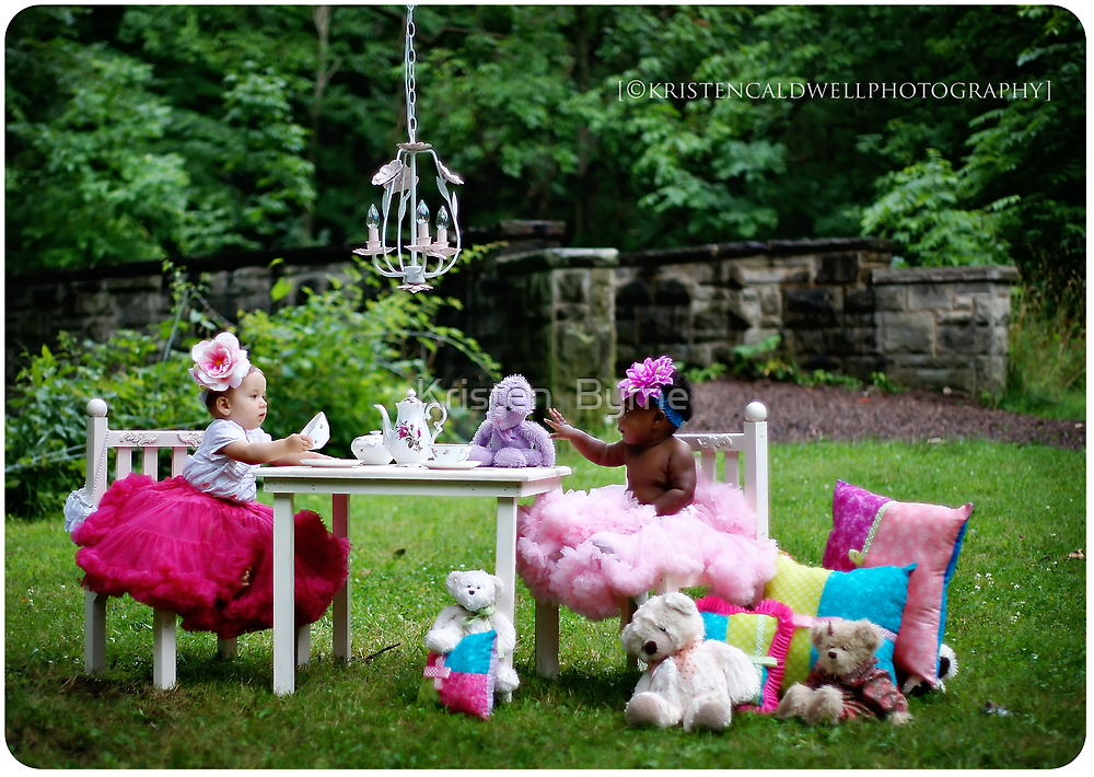 Tea Party fit for a couple of Princesses by Kristen  Caldwell